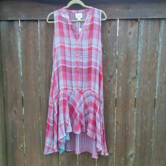 Anthropologie Dresses & Skirts - Anthropologie Maeve Swing Dress Pippa Plaid Medium